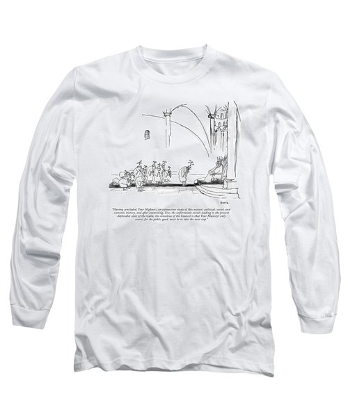 Having Concluded Long Sleeve T-Shirt