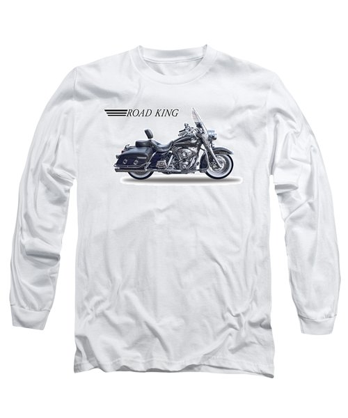 H D Road King Long Sleeve T-Shirt by Daniel Hagerman
