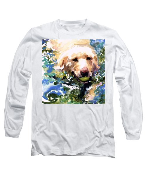 Head Above Water Long Sleeve T-Shirt by Molly Poole
