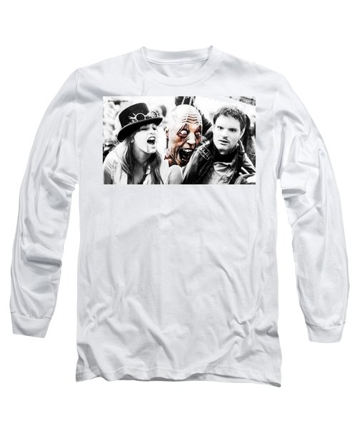 Head Of The Death Long Sleeve T-Shirt