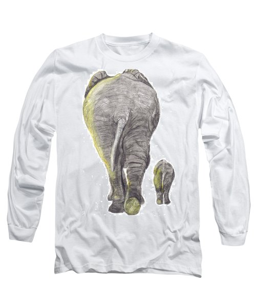Heading Home Long Sleeve T-Shirt by Catherine Swerediuk