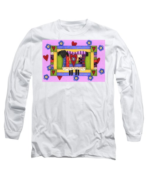 Heart For Ewe Long Sleeve T-Shirt by Tracy Campbell