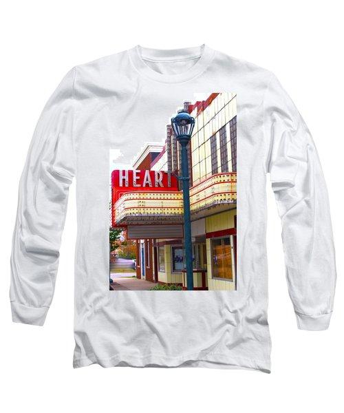 Heart Theatre Effingham Illinois  Long Sleeve T-Shirt