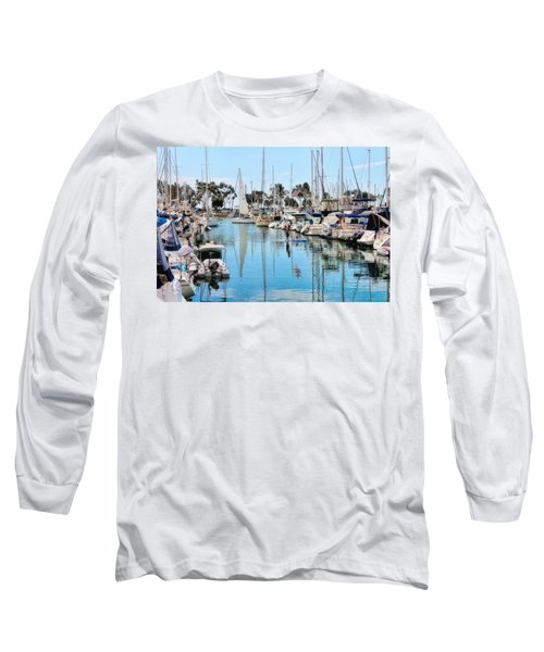 Heat Relief  Long Sleeve T-Shirt by Tammy Espino