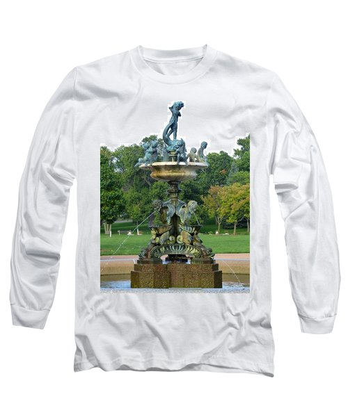 Heffelfinger Fountain Long Sleeve T-Shirt