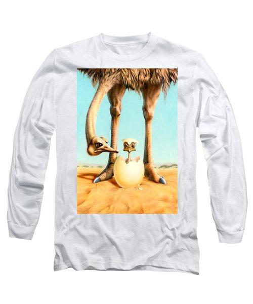 Hello Mum Long Sleeve T-Shirt