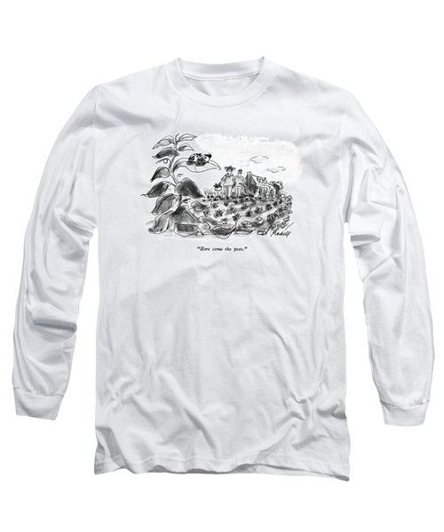 Here Come The Pests Long Sleeve T-Shirt