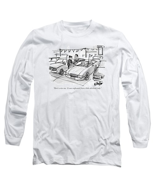 Here's A Nice One.  It Was Confiscated Long Sleeve T-Shirt