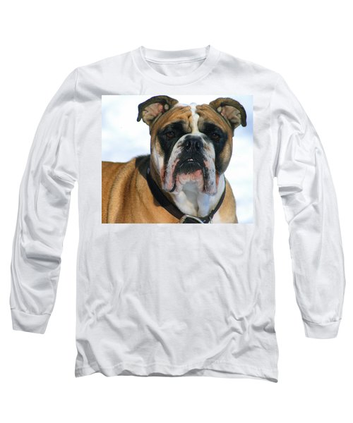 Long Sleeve T-Shirt featuring the photograph Hey Good Looking by Kay Novy