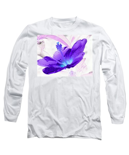 Hibiscus - After The Rain - Photopower 754 Long Sleeve T-Shirt