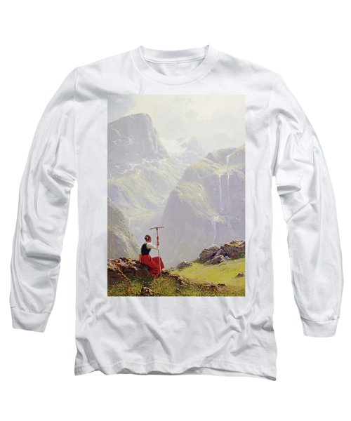 High In The Mountains Long Sleeve T-Shirt
