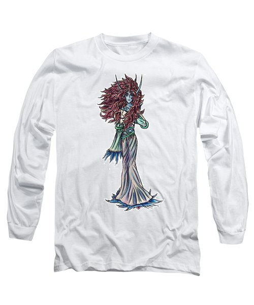 High Ogre Elessidia Long Sleeve T-Shirt by Shawn Dall