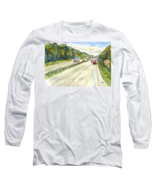 Highway 95 Long Sleeve T-Shirt