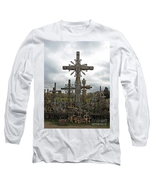 Hill Of Crosses 06. Lithuania.  Long Sleeve T-Shirt