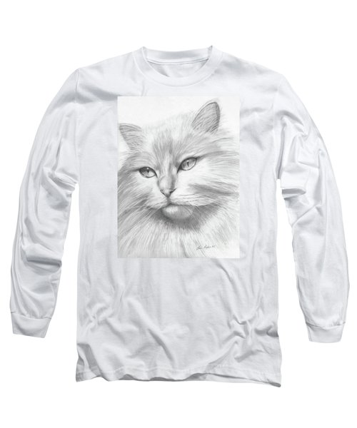 Himalayan Cat Long Sleeve T-Shirt by Lena Auxier