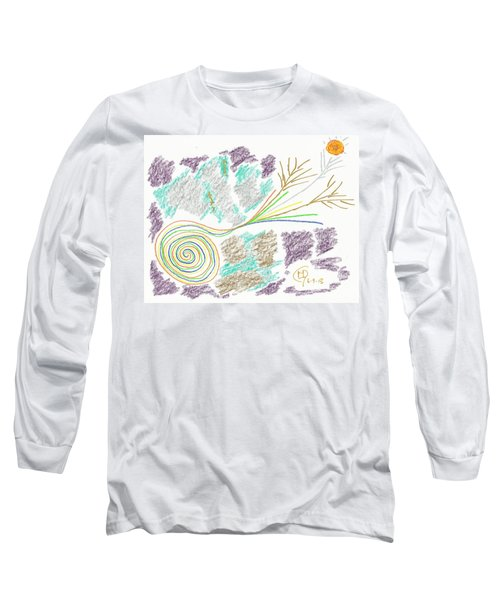 His Mastery's Voice Long Sleeve T-Shirt by Mark David Gerson