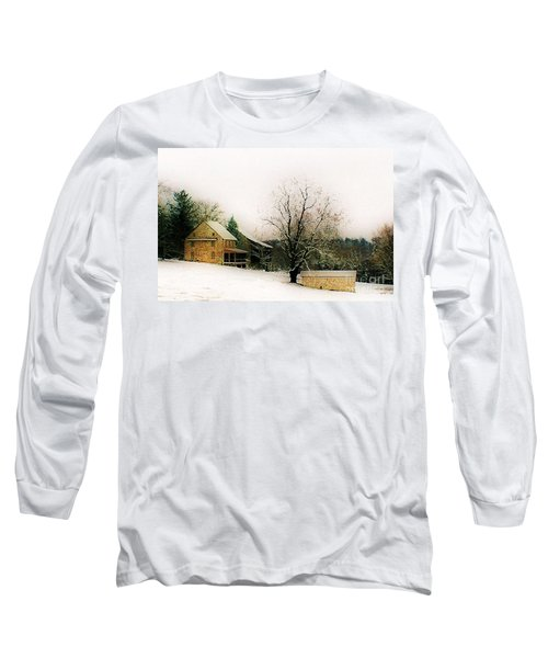 Historic 1700's Farmhouse Long Sleeve T-Shirt