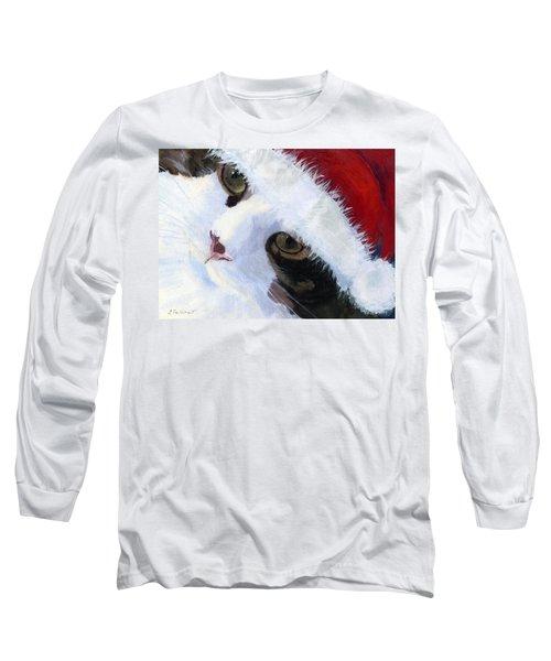 Ho Ho Harley Long Sleeve T-Shirt by Lynne Reichhart