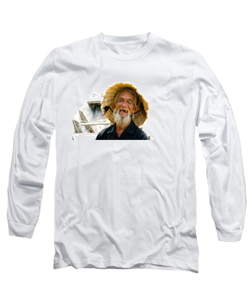 Hoi An Fisherman Long Sleeve T-Shirt