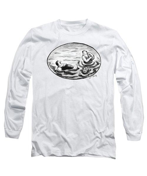 Hoiman! I ?oat! Long Sleeve T-Shirt