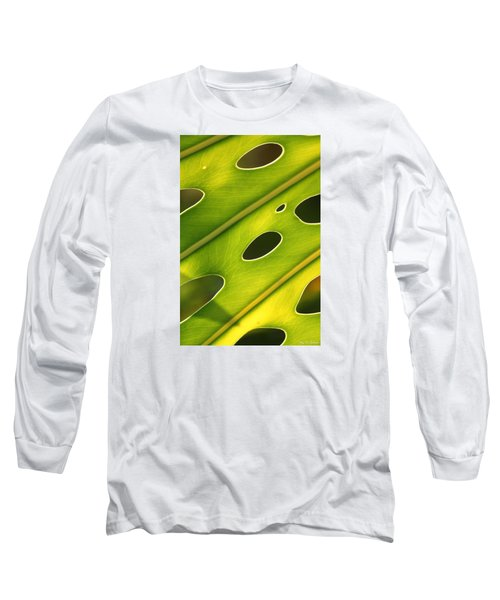 Long Sleeve T-Shirt featuring the photograph Holey Light by Amy Gallagher