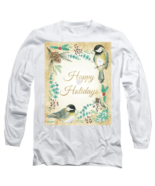 Holiday Wishes II Long Sleeve T-Shirt