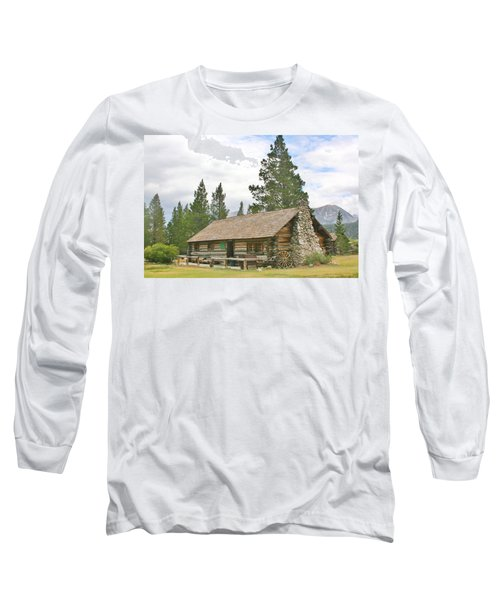 Long Sleeve T-Shirt featuring the photograph Homesteaded by Marilyn Diaz