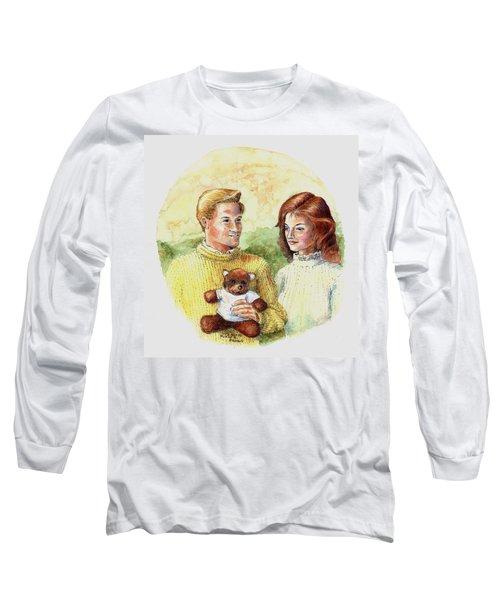 Honey Bear Long Sleeve T-Shirt by Duane R Probus