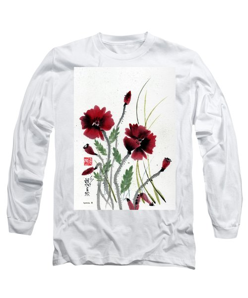 Long Sleeve T-Shirt featuring the painting Honor by Bill Searle