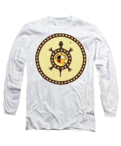 Honor The Circle Long Sleeve T-Shirt