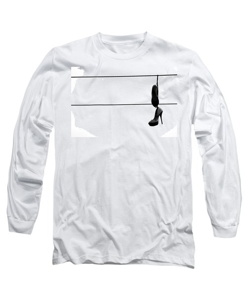 Hooked And Booked  Long Sleeve T-Shirt by Jerry Cordeiro