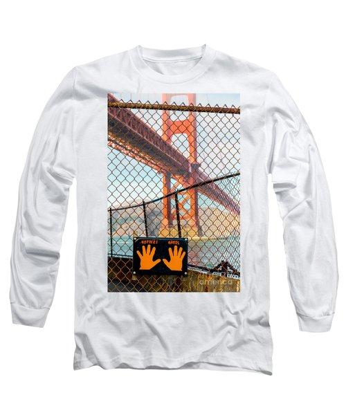Hoppers Hands Long Sleeve T-Shirt