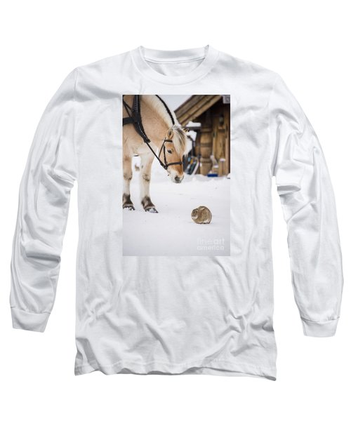 Horse And Rabbit Long Sleeve T-Shirt