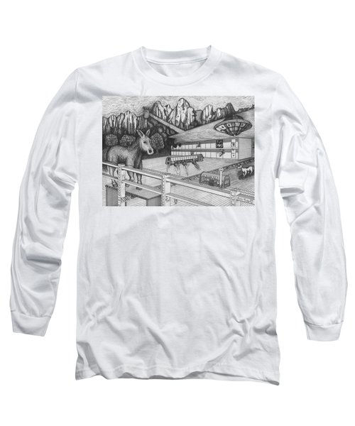 Horse Perspective Long Sleeve T-Shirt