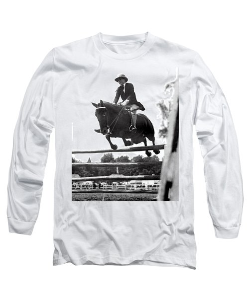 Horse Show Jump Long Sleeve T-Shirt
