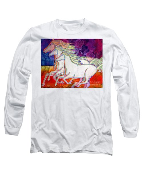 Horse Spirits Running Long Sleeve T-Shirt