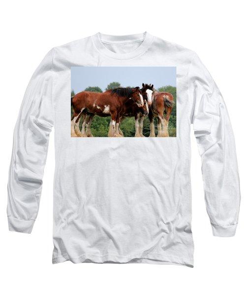 Horsie Huddle Long Sleeve T-Shirt