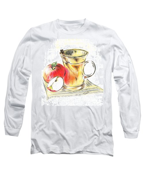 Hot Apple Cider Long Sleeve T-Shirt
