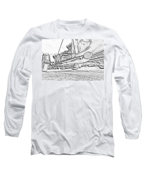 Hot Rod Exhausting Long Sleeve T-Shirt