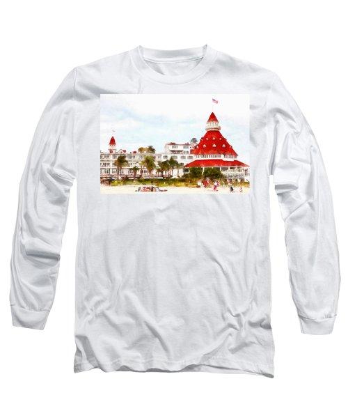 Hotel Del Coronado In Coronado California 5d24256wcstyle Long Sleeve T-Shirt