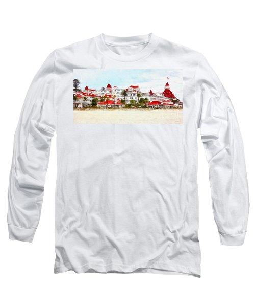Hotel Del Coronado In Coronado California 5d24312wcstyle Long Long Sleeve T-Shirt