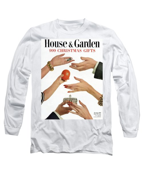 House And Garden 999 Christmas Gifts Cover Long Sleeve T-Shirt