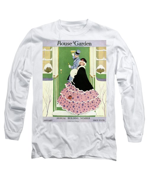 House And Garden Annual Building Number Cover Long Sleeve T-Shirt