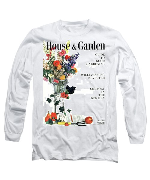 House And Garden Guide To Good Gardening Cover Long Sleeve T-Shirt