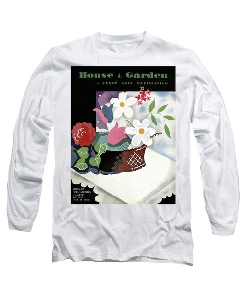 House And Garden Summer Furnishings Number Cover Long Sleeve T-Shirt