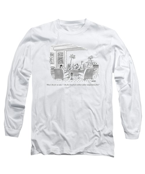 How's This For An Idea  -  The First Long Sleeve T-Shirt