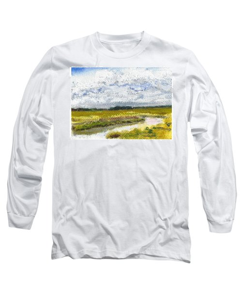 Hunting Island Crab Dock Long Sleeve T-Shirt