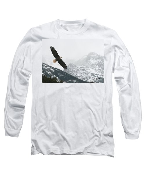 I Am The Eagle Long Sleeve T-Shirt