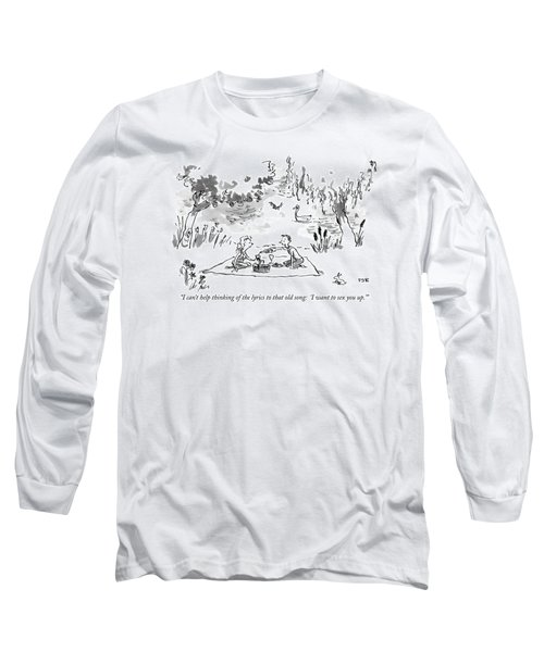 I Can't Help Thinking Of The Lyrics To That Old Long Sleeve T-Shirt