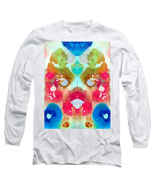 I Found Your Dog - Art By Sharon Cummings Long Sleeve T-Shirt